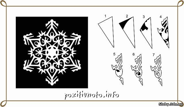Сделать снежинки из бумаги на окна своими руками